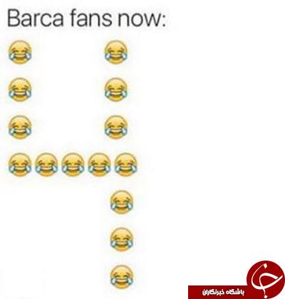برای مادرید دعا کنید / کسی نیست یه پنالتی به من بده / بارسلونا رئال را گردن زد +تصاویر