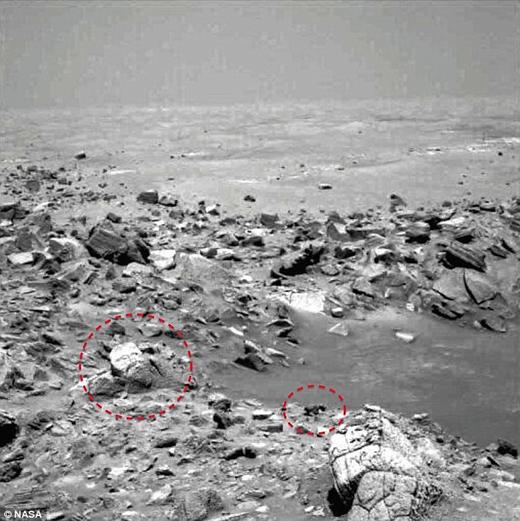 صورت خدایان آشوریان روی مریخ +عکس