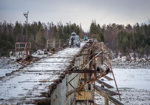 خطرناکترین پل برای عبور و مرور وسایل نقلیه در دنیا +تصاویر