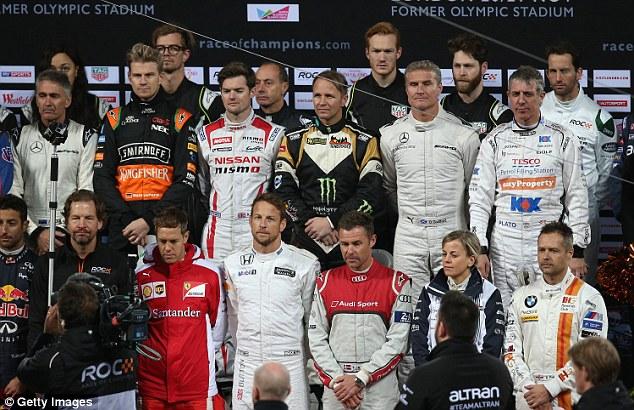 حضور رانندگان فرمول یک در رقابت