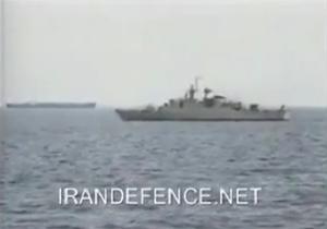 رویارویی ناوهای جنگی ایران و امریکا + فیلم
