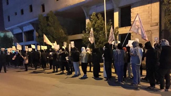 تظاهرات شیعیان عربستان در همبستگی با شیخ نمر