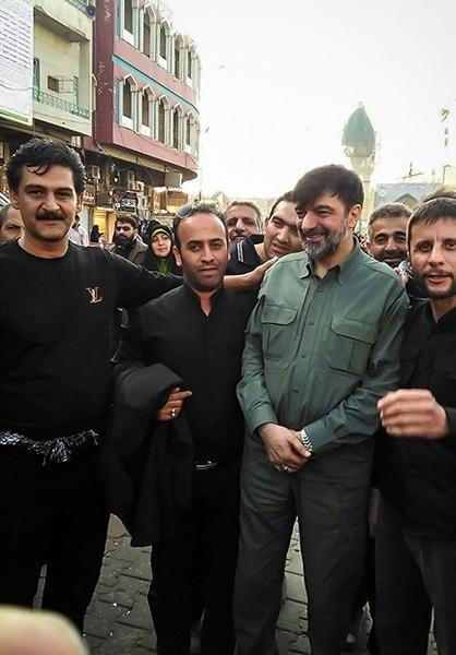 سردار رادان در پیادهروی اربعین + عکس