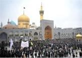 باشگاه خبرنگاران - حرم مطهر رضوی در روز اربعین میزبان عزاداران حسینی است