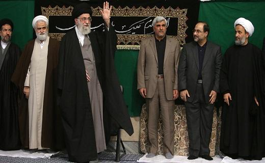 مراسم عزاداری اربعین حسینی(ع) در حضور رهبر معظم انقلاب برگزار شد