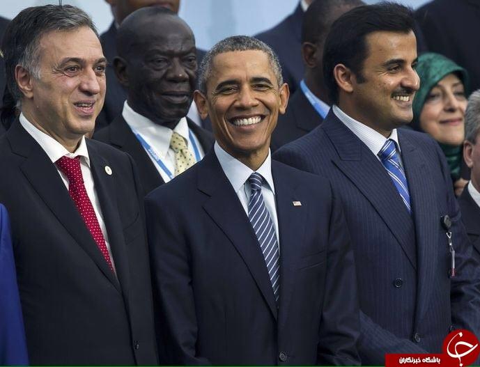 وقتی ابتکار و اوباما باهم عکس میگیرند + تصویر