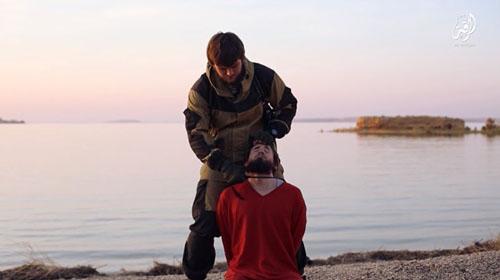 اعدام فجیع اسیر روس به دست داعش( تصاویر +18)
