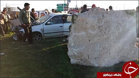 سنگی که مامور راهنمایی و رانندگی را به کام مرگ کشاند+ عکس