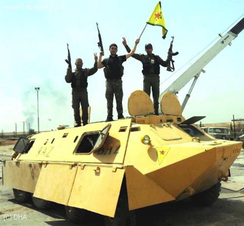 ماشین های جالب جنگی برای مقابله با داعش + عکس