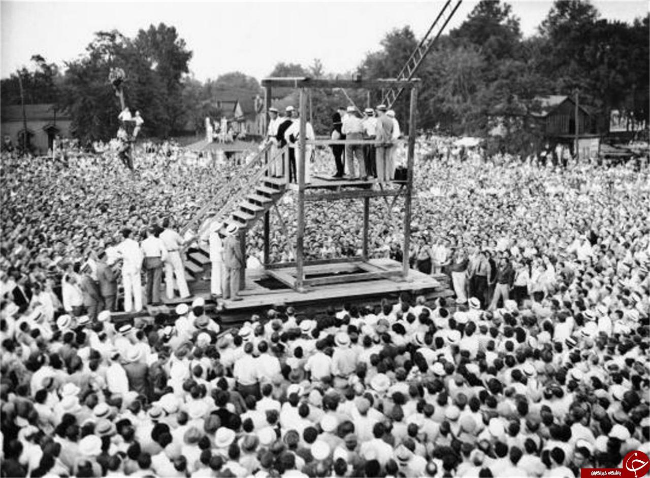 اعدام در امریکا 80 سال قبل+عکس