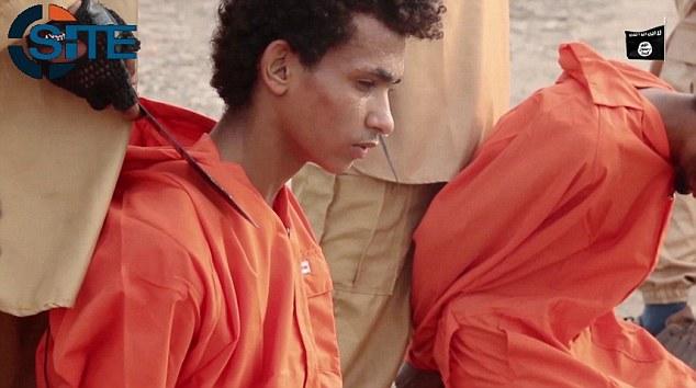 شیوه جدید اعدام داعش با گردنبندهای انفجاری + فیلم و تصاویر