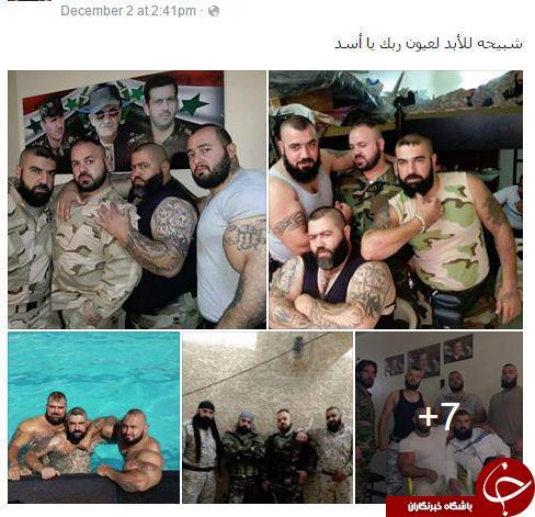 ورزیده ترین کماندوهای سوری+تصاویر