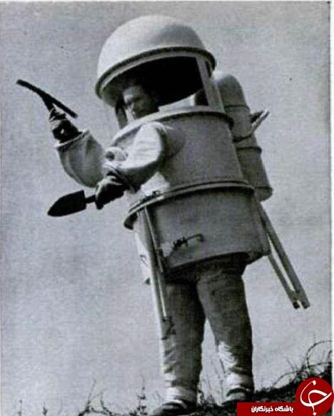 اولین لباس فضانوردی دنیا+ عکس