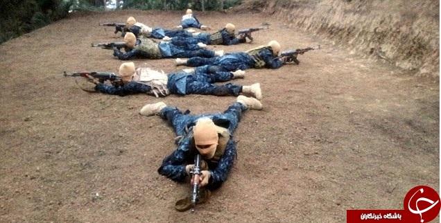کمپ تمرینی داعش در افغانستان + تصاویر