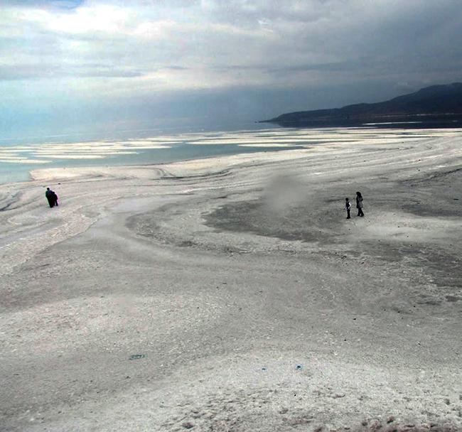 دریاچه ارومیه جان گرفت + عکس