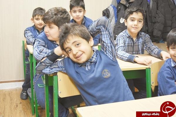هانی نوروزی در مدرسه + عکس