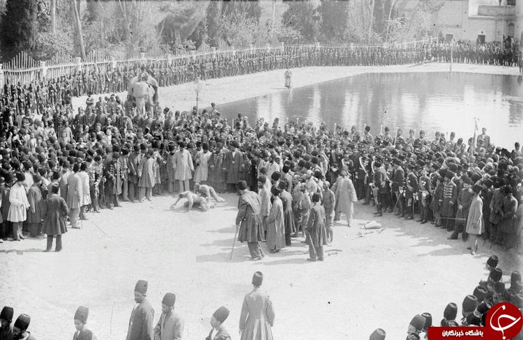 قوی ترین مرد ایران در عصر ناصرالدینشاه