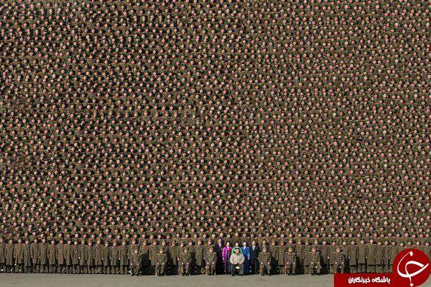 با نظم ترین ارتش دنیا + عکس