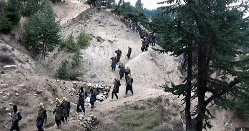 تمرین نظامی داعش در افغانستان+ تصاویر
