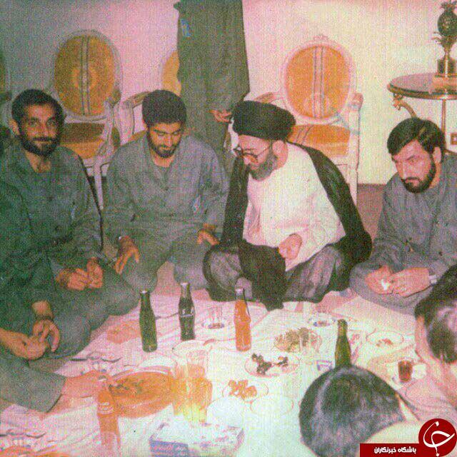 سردار سلیمانی و محسن رضایی در کنار رهبر انقلاب +عکس