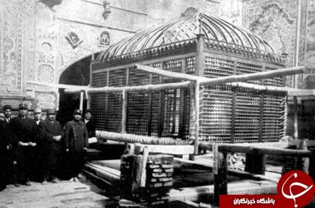 اولین ضریح امام رضا (ع) + تصاویر