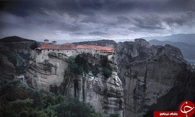شهر رویایی متیئورا  معروف به بهشت آسمانی +تصاویر