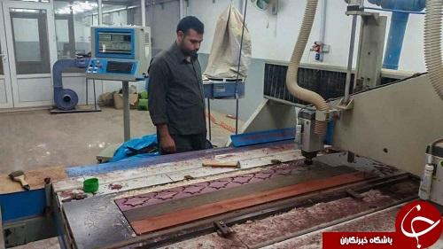 اتمام ساخت منبتکاری ضریح جدید حضرت عباس(ع) + تصاویر