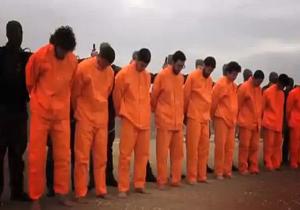 اتفاق نادر و عجیب در مراسم اعدام به دست داعش + فیلم و تصاویر