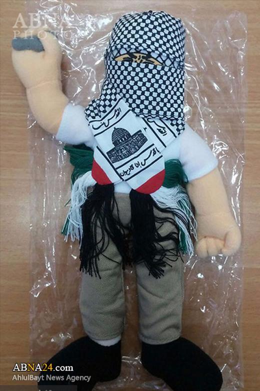 توقیف عروسکهایی با پوشش فلسطینی توسط اسرائیل+تصاویر
