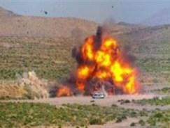 تله انفجاری در نیکشهر / 2 مامور نیروی انتظامی شهید شدند