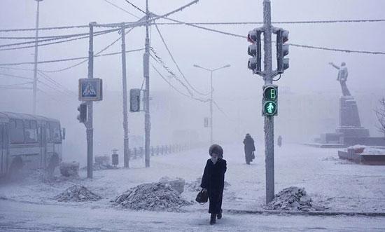 سردترین شهر جهان را بینید+تصاویر!