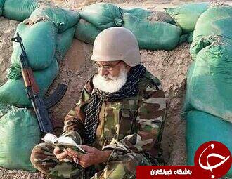 عبادت مدافعان حرم در شرایط سخت+تصاویر