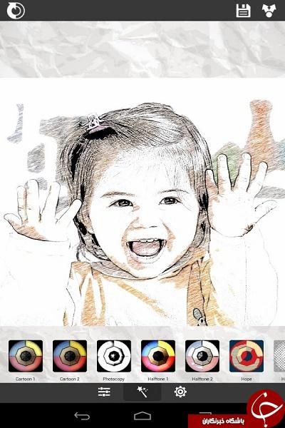عکس هایتان را با XnSketch به نقاشی تبدیل کنید +دانلود