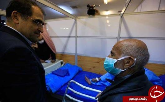 خیلی از آنفلونزا نترسید مثل وزیر بهداشت+عکس
