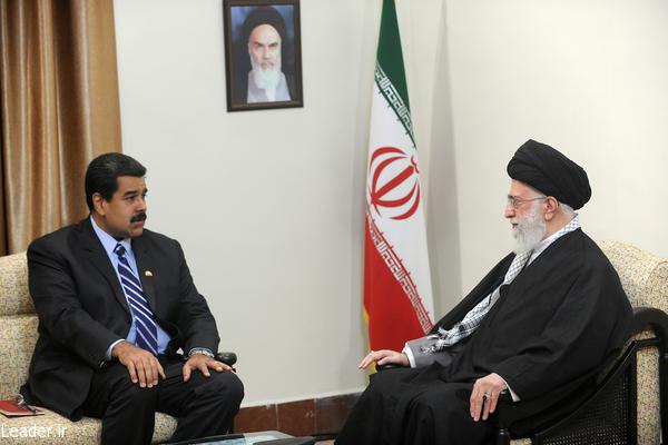 رئیس جمهوری ونزوئلا با رهبر معظم انقلاب اسلامی دیدار کرد