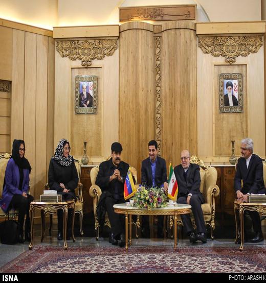 حجاب همسر رئیسجمهور ونزوئلا در تهران
