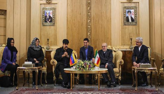 عکس/ حجاب همسر نیکلاس مادورو در تهران