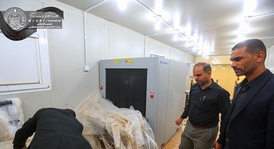 ورودىهاى حرم مطهر علوى به دستگاه های ایکس-ری مجهز شدند