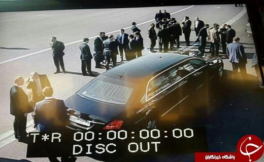 عکس/ خودروی معروف پوتین در فرودگاه مهرآباد
