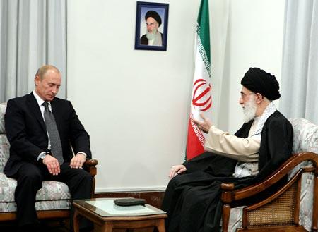 رئیس جمهور روسیه با رهبر انقلاب دیدار کرد