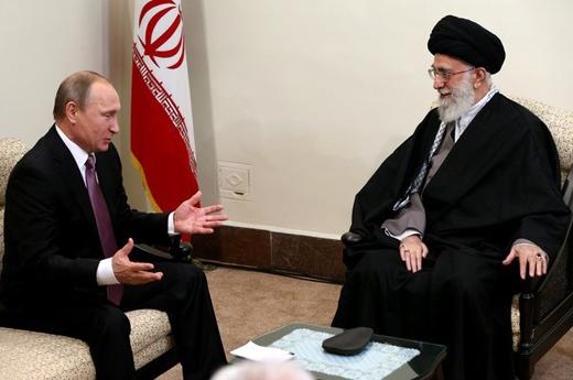 تصاویری از دیدار پوتین با رهبر معظم انقلاب