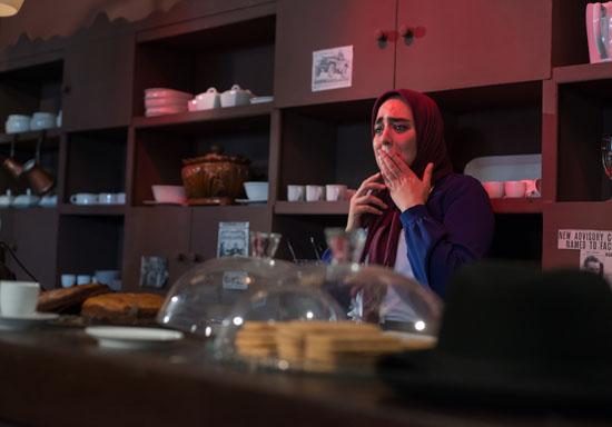 سر و کله«نرگس محمدی» در کافه لاله زار  پیدا می شود + تصاویر