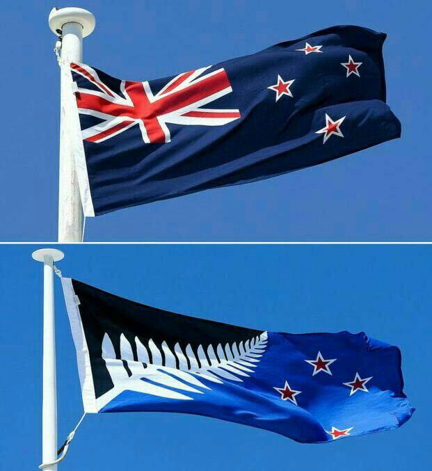 پرچم جدید نیوزلند پس از استعمار بریتانیا +عکس