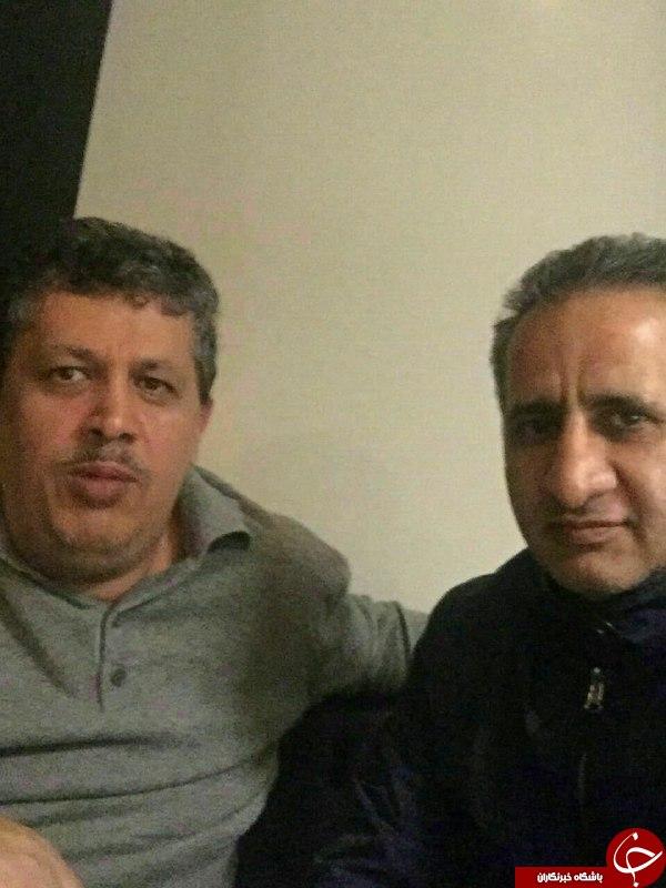 مهدی هاشمی در مرخصی+عکس