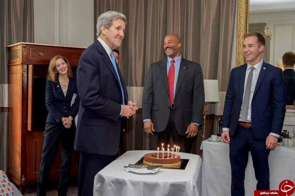 کیک تولد جان کری +عکس