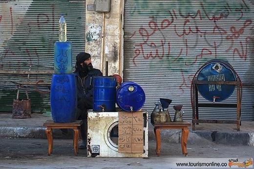 پردرآمدترین شغل این روزهای سوریه+عکس