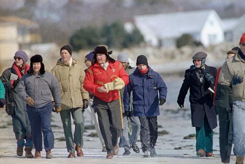 روسای جمهور آمریکا در تعطیلات زمستانی+ تصاویر