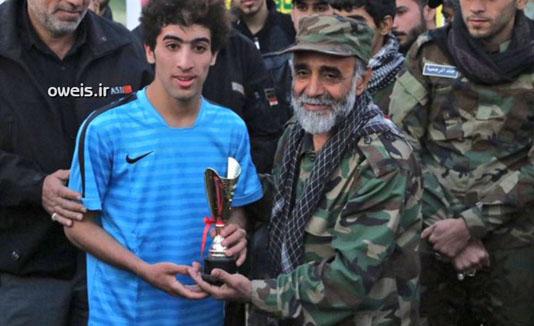 فوتبالیستی که شهید مدافع حرم شد + تصاویر