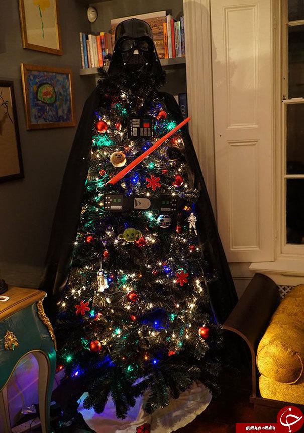 جالب ترین درخت های کریسمس + تصاویر