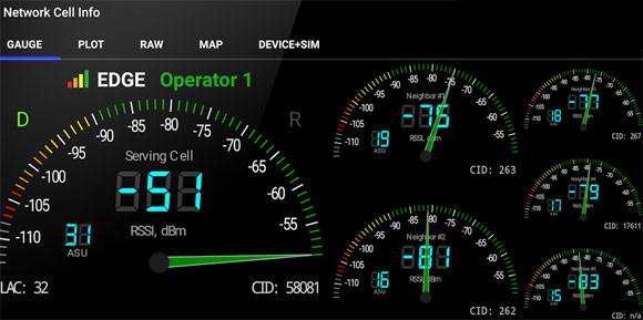 نمایش اطلاعات شبکه موبایل + دانلود